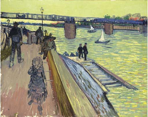 Vincent van Gogh-Pont de Trinquetaille-1888