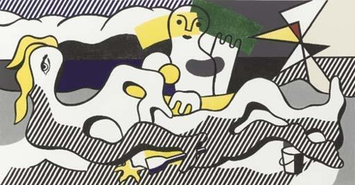 Roy Lichtenstein-At the Beach, from Surrealist Series-1978