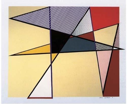 Roy Lichtenstein-Imperfect 67 x 79 7/8-1988