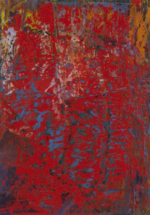 Gerhard Richter-Abstraktes Bild 607-3 (Abstract Painting 607-3)-1986