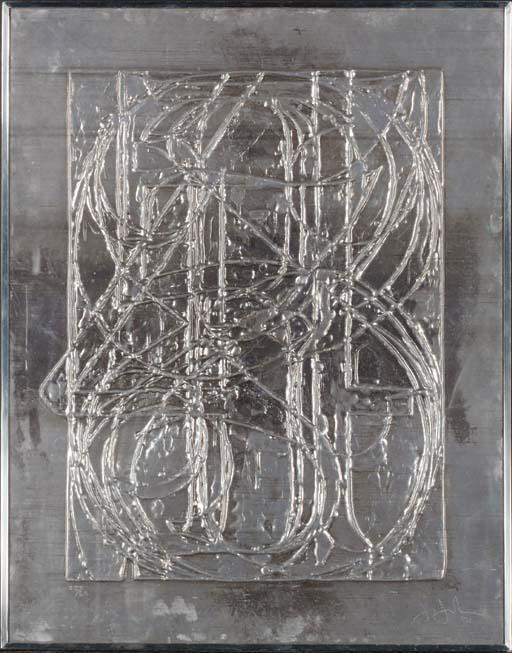 Jasper Johns-0 Through 9, From Lead Reliefs (ulae 84; G. 189)-1970