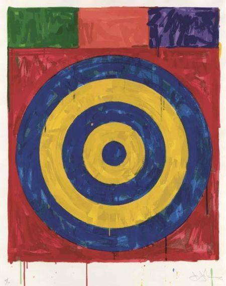 Jasper Johns-Target (ULAE 147)-1974