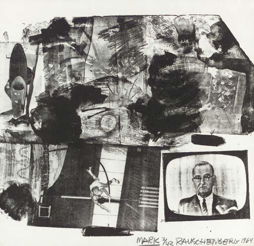 Robert Rauschenberg-Robert Rauschenberg - Mark/Rauschenberg: XXXIV Drawings for Dante's Inferno-1964