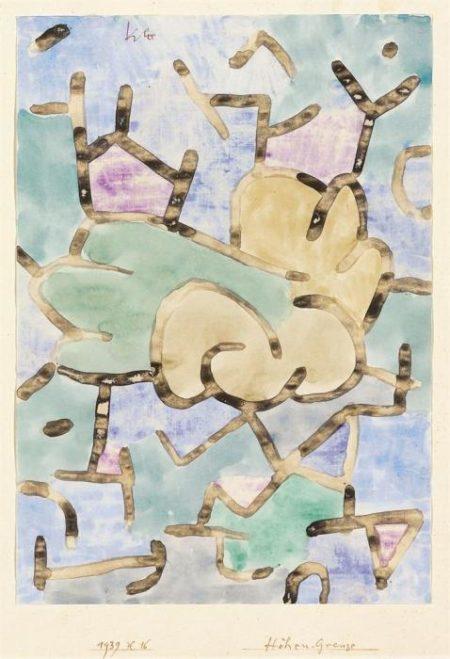 Paul Klee-Hohen-Grenze-1939