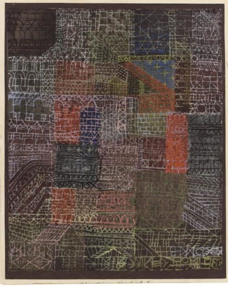 Paul Klee-Structural II-1924