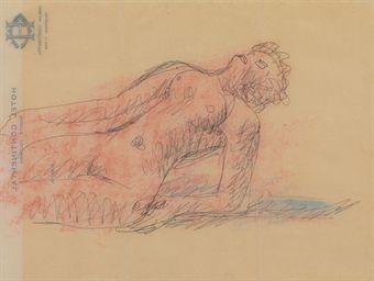 Le Corbusier-Femme nue allongee-
