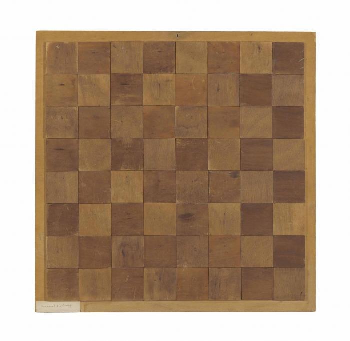 Marcel Duchamp-Chessboard (Echiquier)-1937