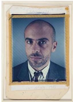 Chuck Close-Photo maquette for Francesco II-1988