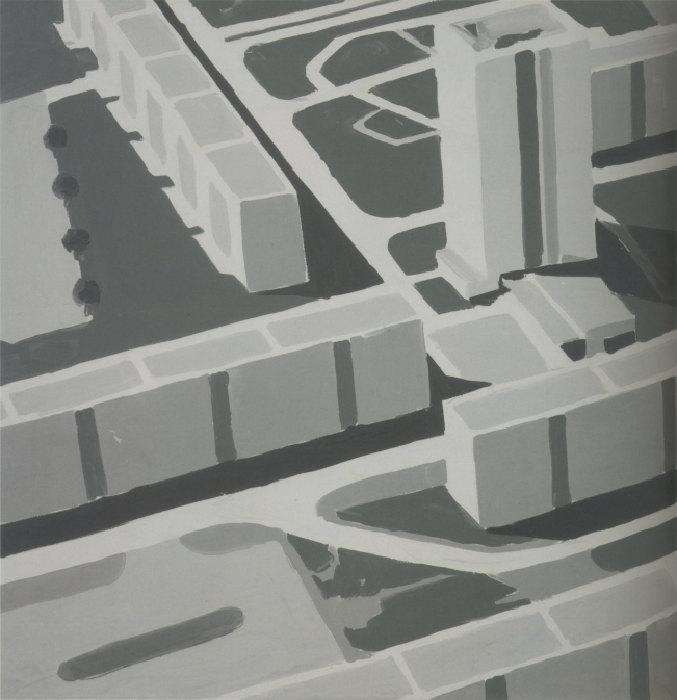 Gerhard Richter-Stadtbild SL 3 (Townscape SL 3)-1969