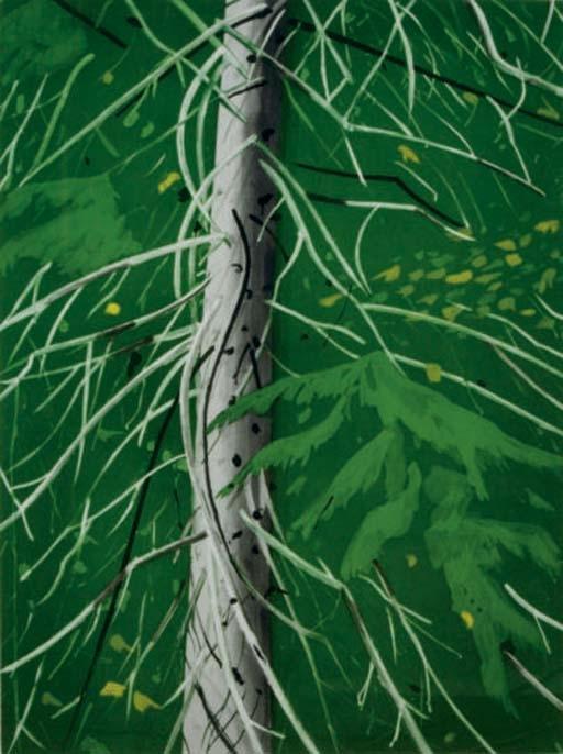 Alex Katz-Spruce-1994