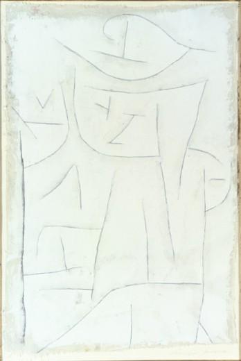 Paul Klee-Scheibar bescheiden-1937