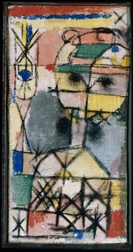 Paul Klee-Kopf (Head)-1919