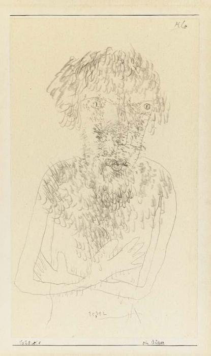 Paul Klee-Ein Busser-1925
