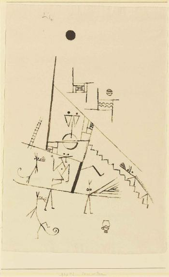 Paul Klee-Scene Mit Tieren (Scene With Animals)-1929