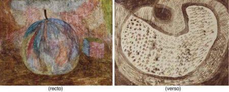 Paul Klee-Kunstliche Frucht / Fruchtscheibe (Still Life Of Fruit)-1935