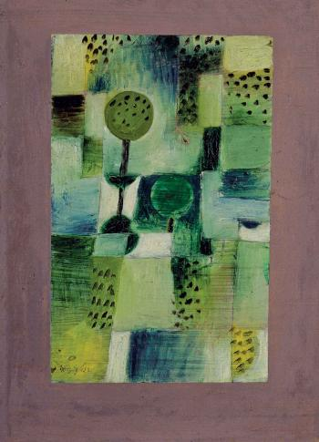 Paul Klee-Parkbild Bei Regen-1920
