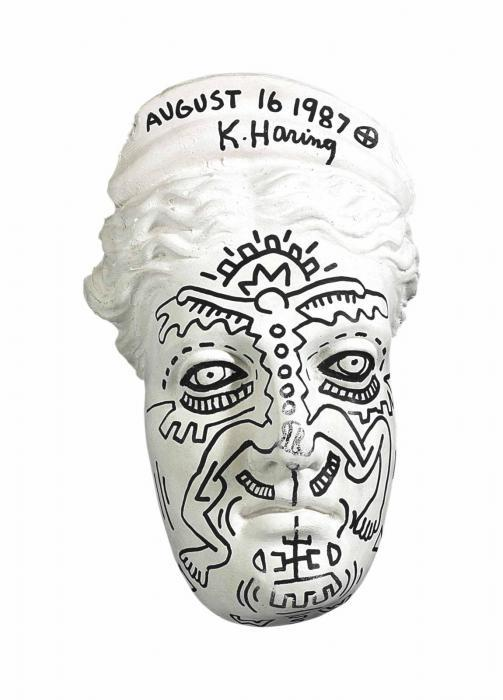 Keith Haring-Keith Haring - Statue of Liberty-1987
