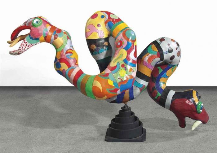 Niki de Saint Phalle-Serpent-1982