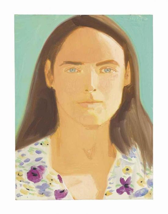 Alex Katz-Elise-1980
