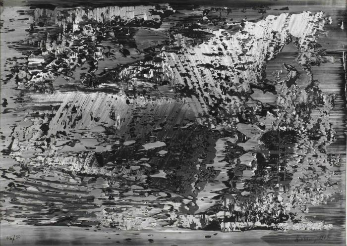 Gerhard Richter-Ohne Titel (Untitled)-1989