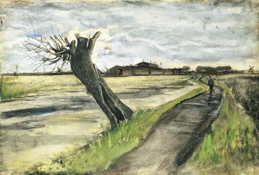 Vincent van Gogh-Pollard Willow-1882