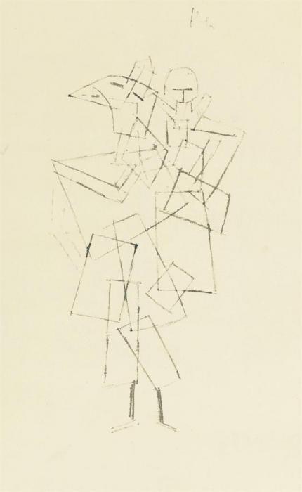 Paul Klee-Mutter Und Kind-1929