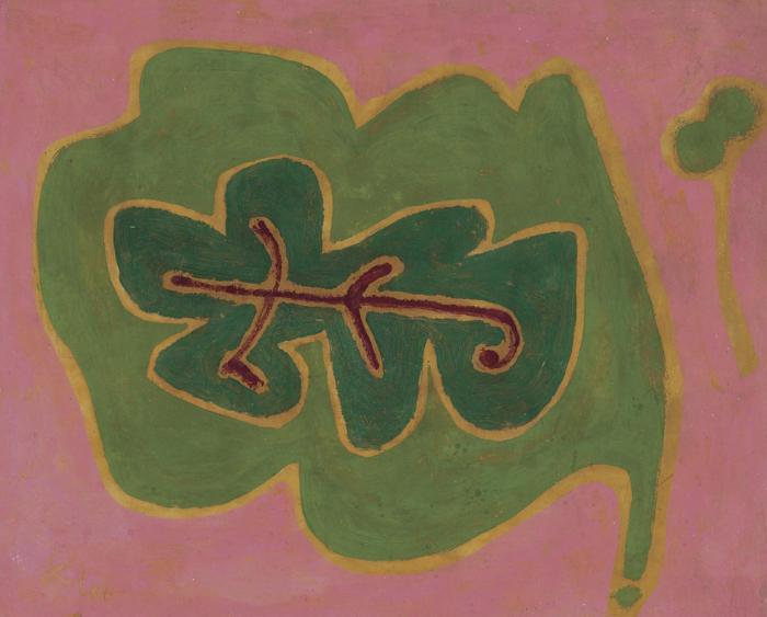Paul Klee-Blatt-1937