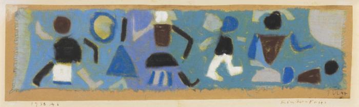Paul Klee-Kinder-Fries-1938