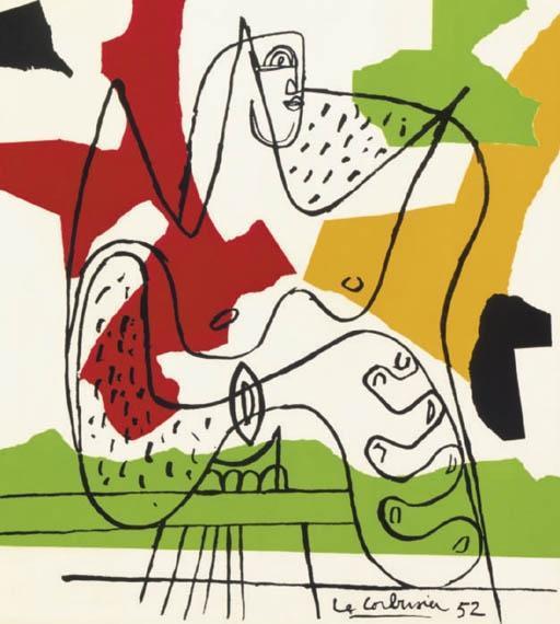 Le Corbusier-La mer est toujours present-1962