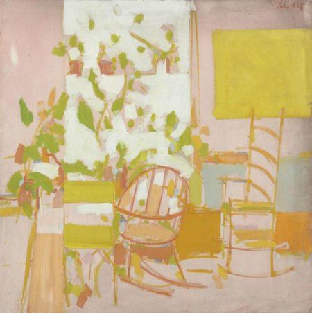 Alex Katz-Porch-1958
