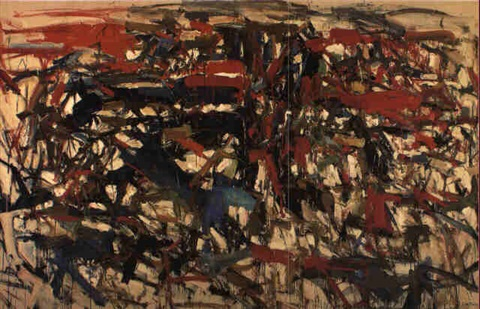 Joan Mitchell-To the Harbormaster-1957