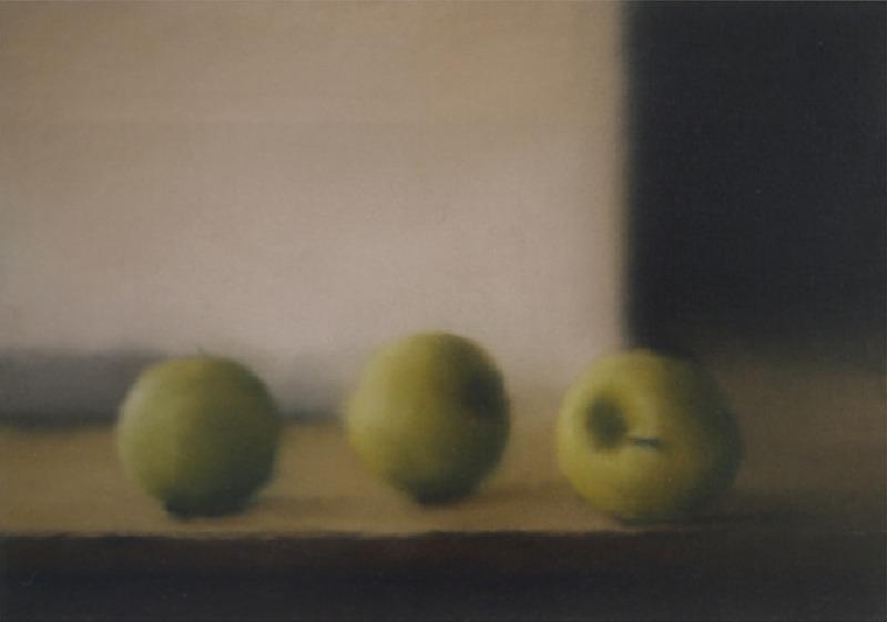 Gerhard Richter-Apfel (Apples)-1984