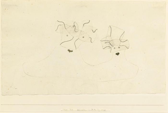 Paul Klee-Schwestern Vom Stame Der Gorgo-1930