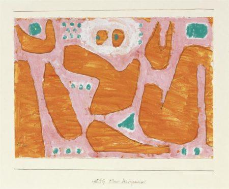 Paul Klee-Etwas Desorganisiert-1938