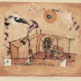 Paul Klee-Der Heldentenor Als Konzertsanger-1922