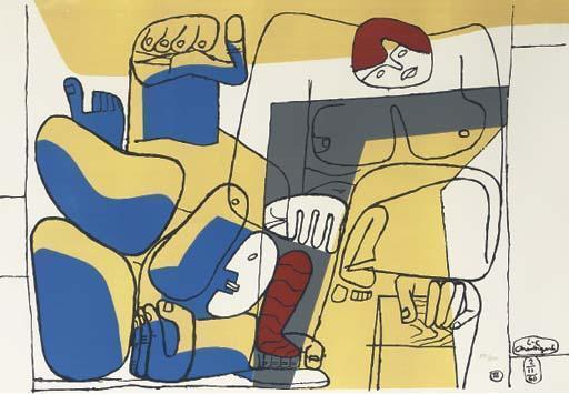 Le Corbusier-Chute de Barcelone-1960