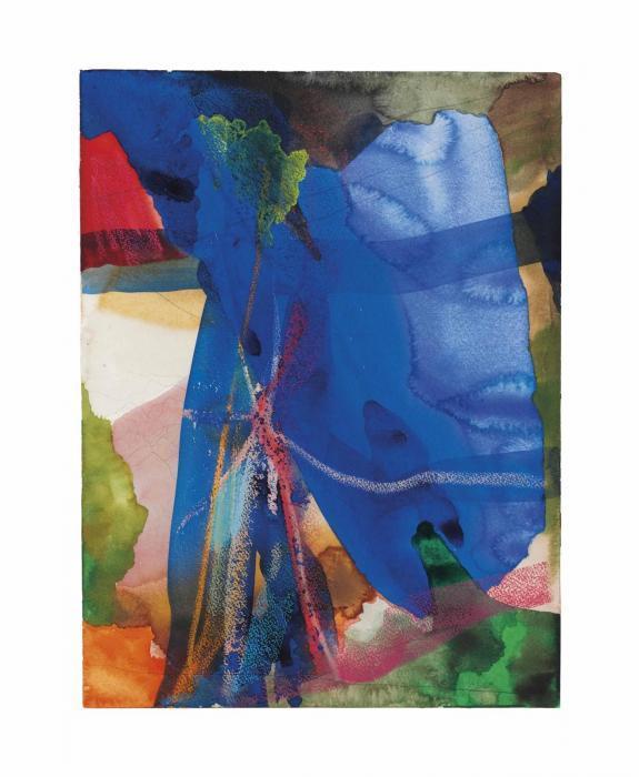 Gerhard Richter-Felsenlandschaft (Rocky Landscape)-1984