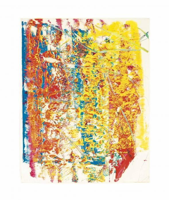 Gerhard Richter-Ohne Titel (9.4.86) / Untitled (9.4.86)-1986
