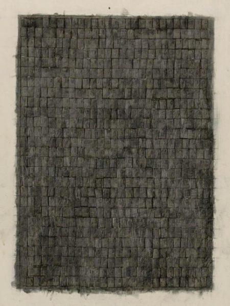 Jasper Johns-Alphabets-1957