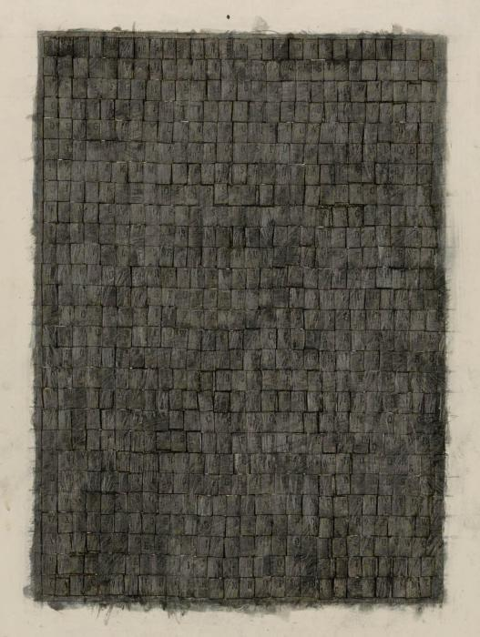 Jasper Johns-Alphabets-1957