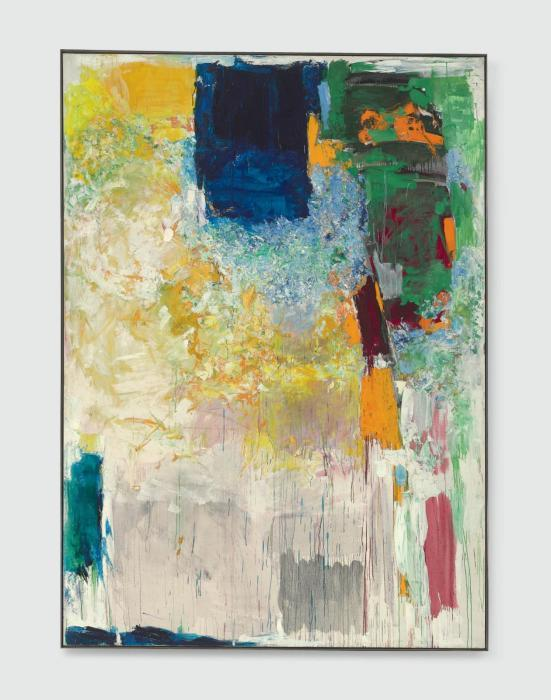 Joan Mitchell-Salut Sally-1970