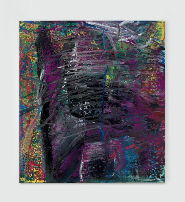 Gerhard Richter-Abstraktes Bild 600-2 (Violett)-1986