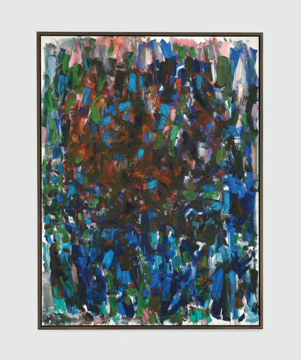 Joan Mitchell-When They Were Gone-1977