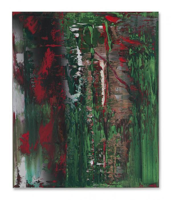 Gerhard Richter-Abstraktes Bild 646-3 (Abstract Painting 646-3)-1987