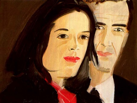 Alex Katz-Alex and Ada-1980