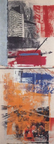 Robert Rauschenberg-Robert Rauschenberg - Slipper (From Salvage Series)-1984