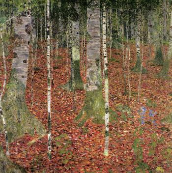 Gustav Klimt-Birch Forest-1903