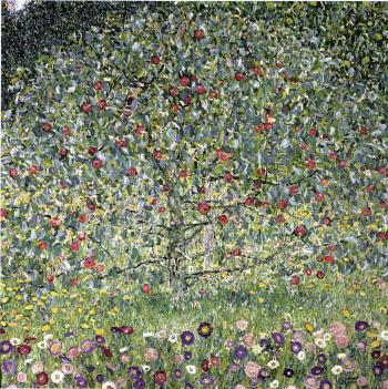 Gustav Klimt-Apple Tree I-1912