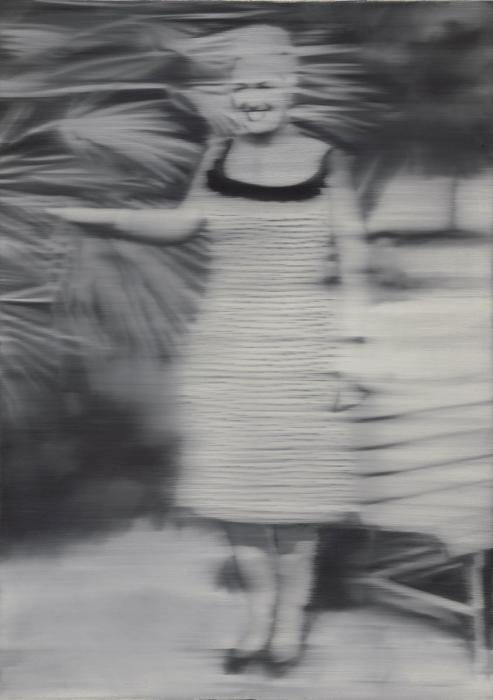 Gerhard Richter-Frau Niepenberg (Mrs Niepenberg)-1965