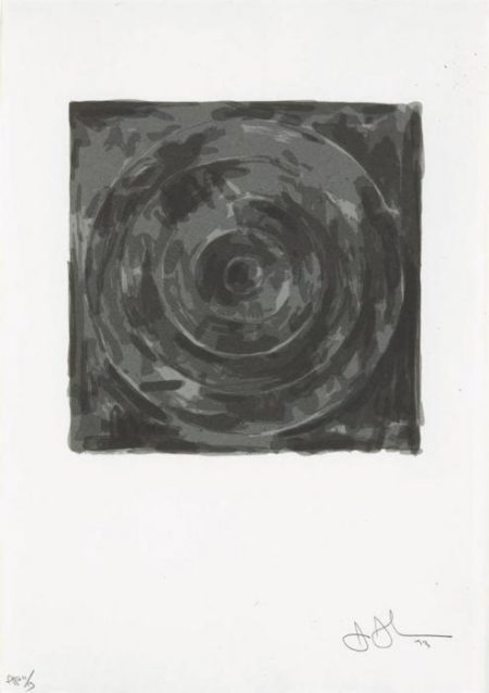 Jasper Johns-Target, from For Meyer Shapiro (ULAE 126)-1974